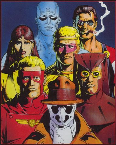 ELIGE TU VILLANO O ANTI-HEROE DE COMIC FAVORITO. Watchmen